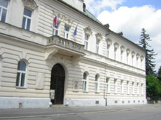 Pôvodná budova Matice slovenskej bola postavená v rokoch 1864 - 1865, a v rokoch 1900 - 1975 slúžila ako sídlo pre štátne úrady.