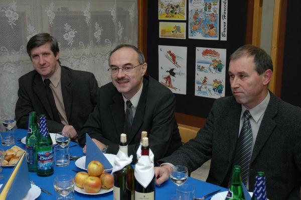 Podujatia sa zúčastnili aj poslanci MsZ (zľava) - Ing. Miroslav Bórik, Ing. Miroslav Kočalka a Ing. Július Morgoš.