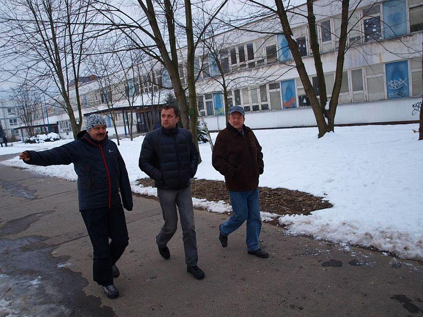 Chodník na Ul. Dolinského plánujú značením sprístupniť okrem chodcov aj cyklistom.