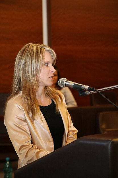 Slávnostný večer moderovala vedúca odboru spoločenských služieb – PhDr. Katarína Boďová.